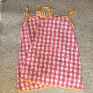 Bundle of 2 New Hanna Andersson Girls Sun Dresses